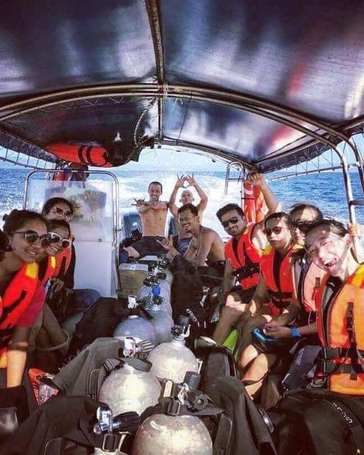 Diving in Langkawi